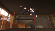 Dos & Ali Fighting