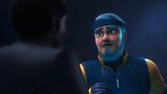 Uno thrust sword to Zain