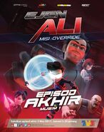 Ejen Ali MISI OVERRIDE Poster