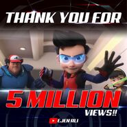 Thank You 5 Million Views