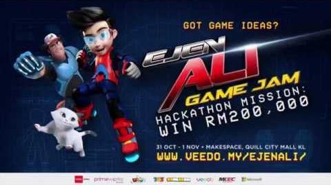 Ejen Ali Game Jam - Hackaton Mission- WIN RM200,000