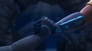 Uno's hand & Zain's hand