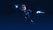 Chris jumping
