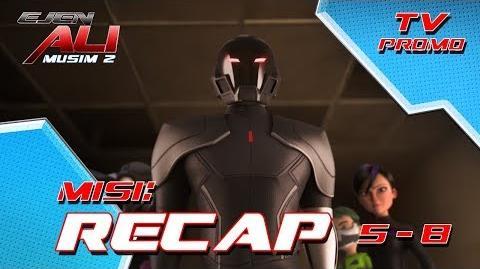 Ejen Ali - MUSIM 2 - RECAP - Misi 5-8 (TV Promo)