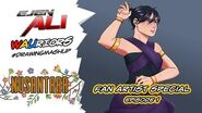 Ejen Ali WAUriors Drawing Mashup Fan Artist Special Episode 1 ARTvidence StayAtHome DudukRumah