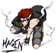Hagen color poster by zeonkalcifer-d7zd7tu