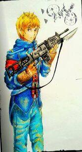 Jonathan con la AK-47 Raven.jpg