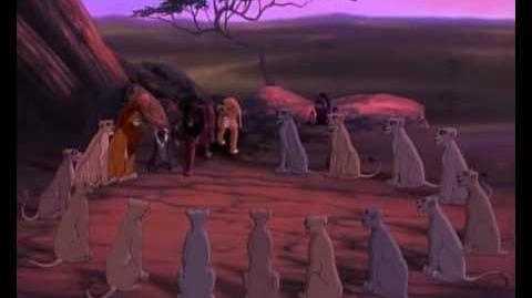 El Rey León 2 - Somos clan (final)