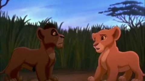 El Rey León 2 - Kiara conoce a Kovu (parte 2)