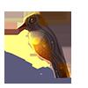 Objeto forma pájaro