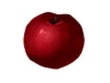 Manzana muy roja