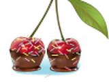 Cerejas Achocolatadas