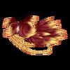 Épaulière plumée