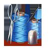 Kit de costura qualificado (item)