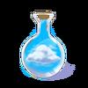 Fiolka z chmurą