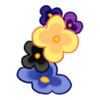 Bransoletka lewa Kwiaty z ogrodu