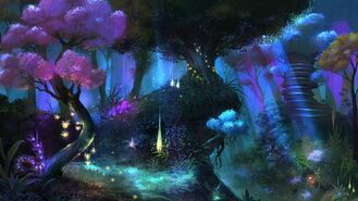 ANE Głęboki las-noc