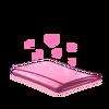 Tecido rosa
