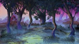 Sylve.Grupa drzew