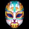Maska Sacred Monk