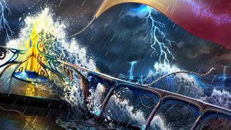 ANE Wzburzone morze