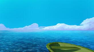 7Lekko pochmurne morze