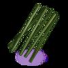 Kawałki bambusa