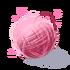 Różowa włóczka