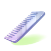 Glass Comb
