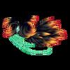 Naramiennik z piórami 6