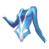 Kostium z długim rękawem Aquamarine Diver