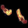 Rękawiczki z piórami 1