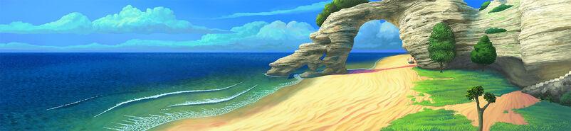 8Zaciszna plaża