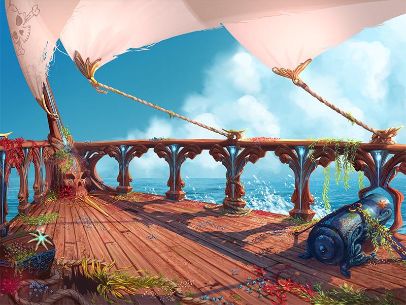 Barco do Rei dos Piratas