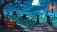 Halloween Website Background