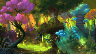 ANE Głęboki las