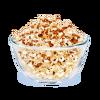 8Karmelowy popcorn