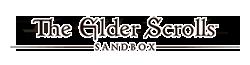 The Elder Scrolls Sandbox