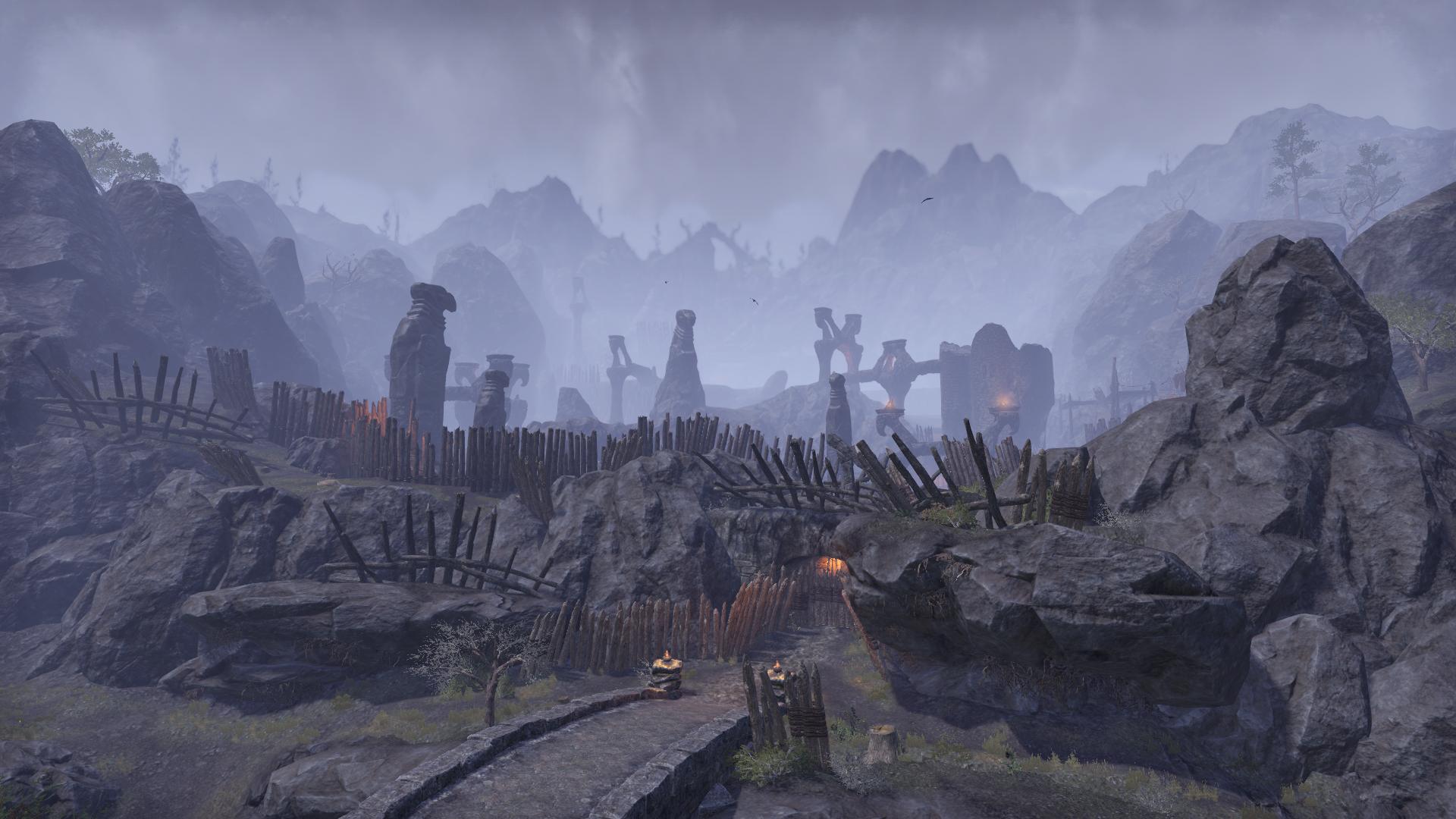Briar Rock Ruins
