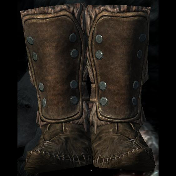 Меховые сапоги (Skyrim)