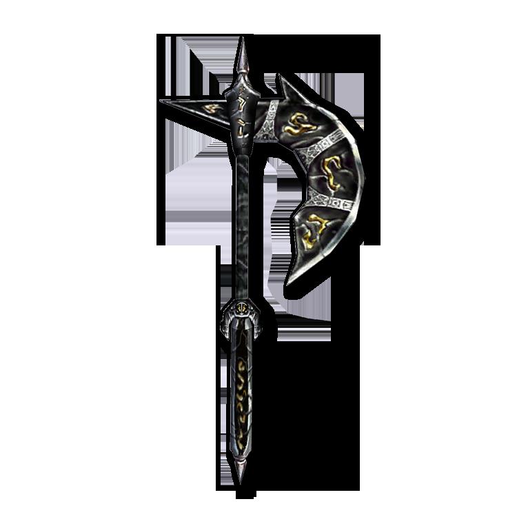 Эбонитовый топор (Morrowind)