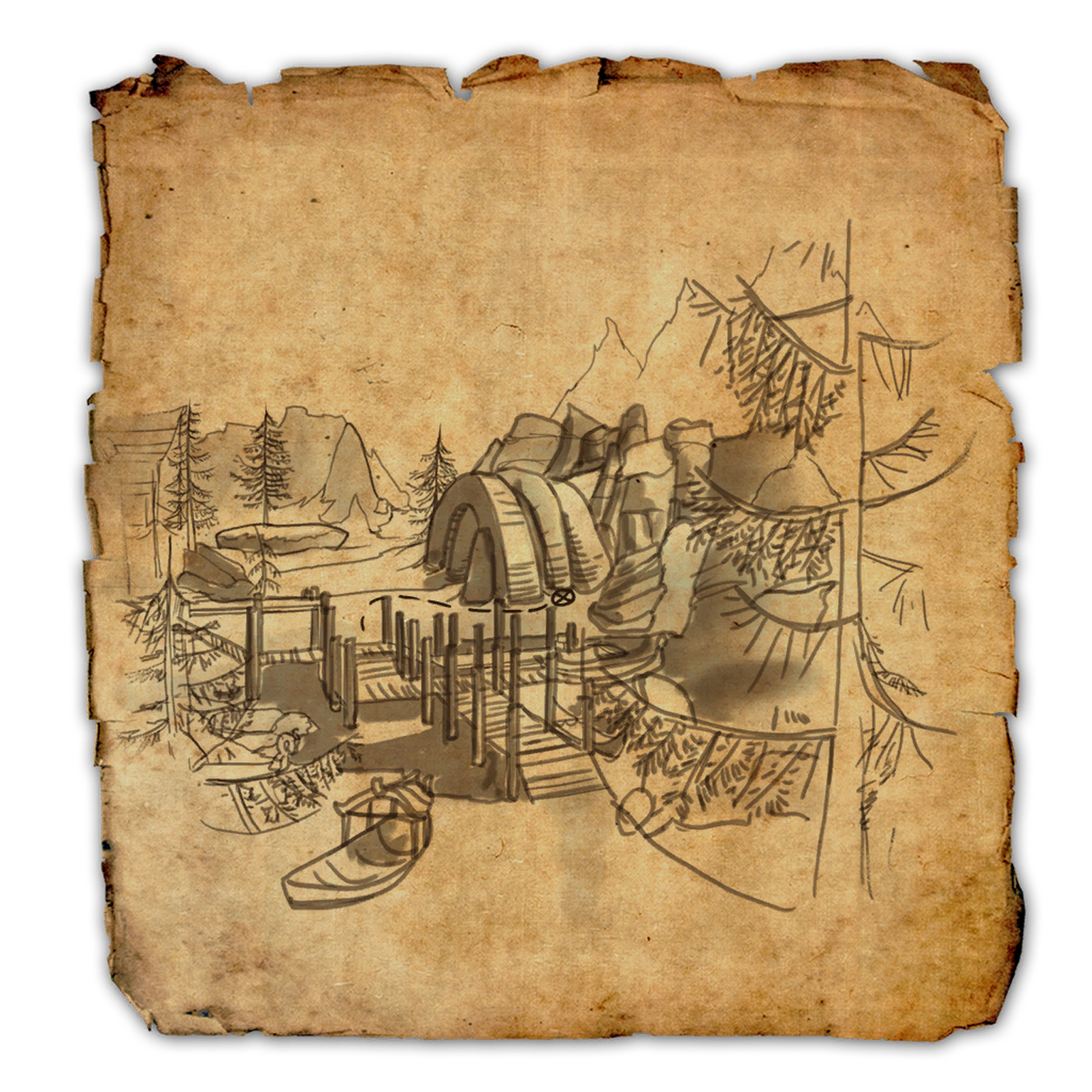 Bleakrock Isle CE Treasure Map