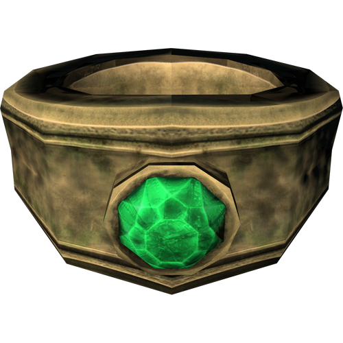 Gold Emerald Ring (Skyrim)