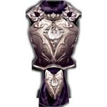 Серебряная кираса стражи герцога