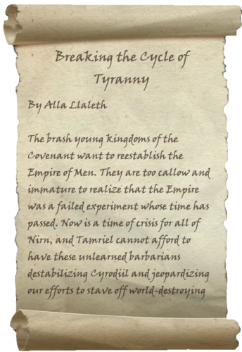 The first page of the book during Beta