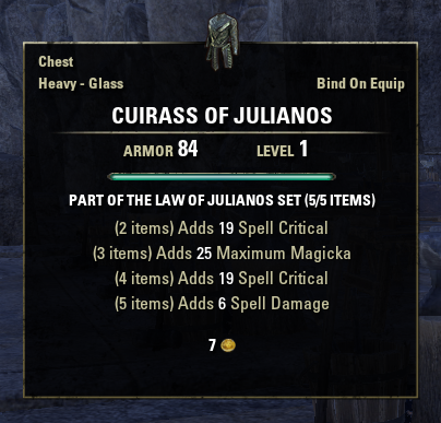 Law of Julianos