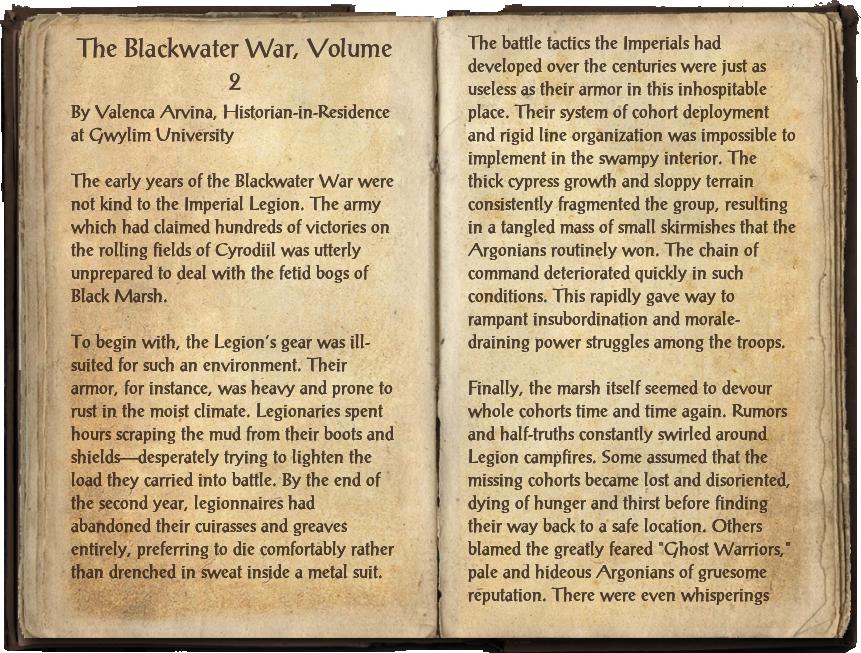 The Blackwater War, Volume 2