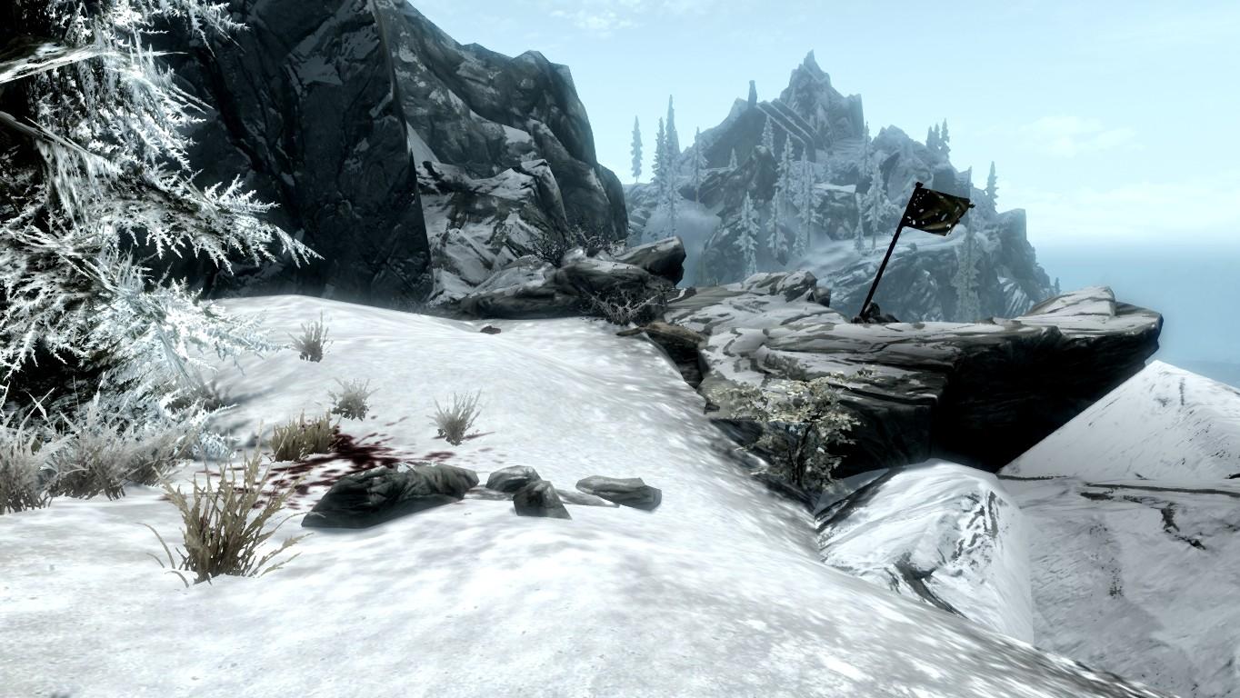 Логово ледяного тролля — Хребет гор Джерол
