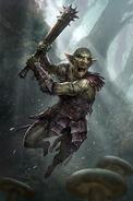 Harcownik z Błot (Legends)