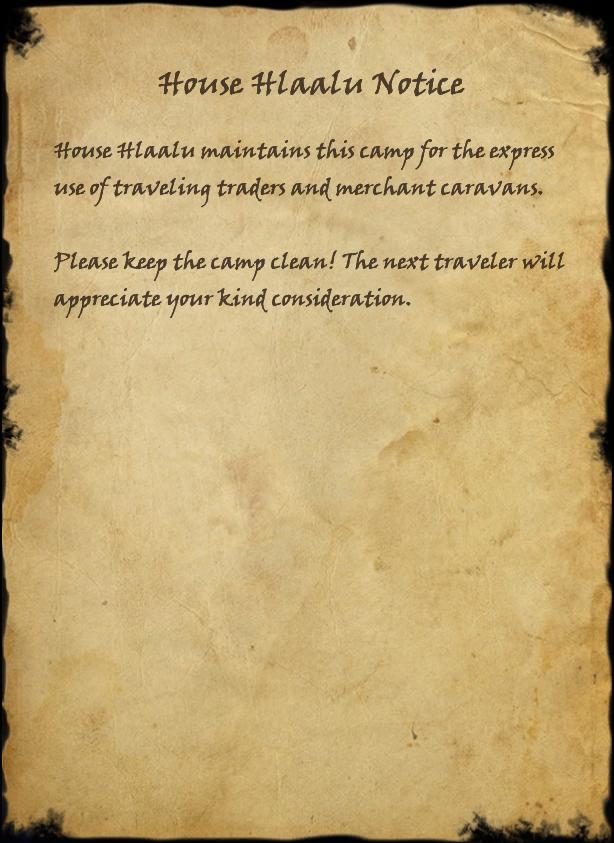 House Hlaalu Notice